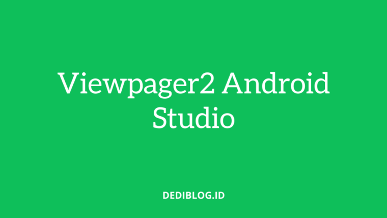 viewpager2 di android studio