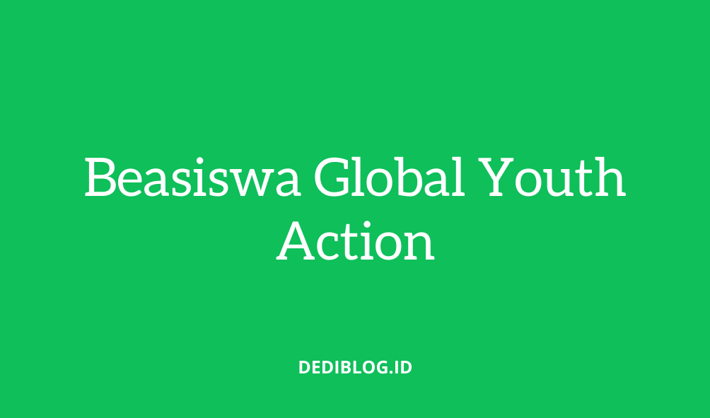 Beasiswa-Global-Youth-Action