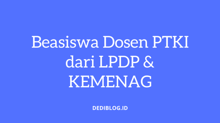 Beasiswa Global Youth Action Dediblog